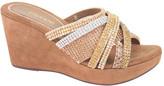 J. Renee Women's Hardscrabble Strappy Wedge Sandal