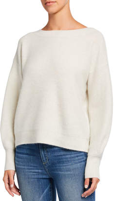 Club Monaco Boiled Cashmere Boat-Neck Sweater