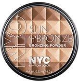 N.Y.C. New York Color Sun N' Bronze Bronzing Powder, Coney Island Glow, 0.44 Ounce