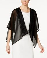 INC International Concepts Lace-Trim Evening Wrap,Created for Macy's