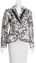 Etro Printed Notch- Lapel Blazer
