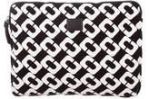 Diane von Furstenberg Chain-Link Print Laptop Case