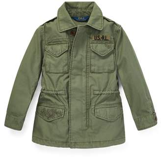 Ralph Lauren Cotton Twill Military Jacket