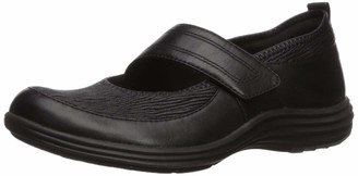 Aravon Women's Quinn Maryjane Mary Jane Flat