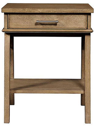 Stone & Leigh Chelsea Square 1-Drawer Nightstand - Toast