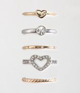 Aeropostale Sparkle Ring 5-Pack