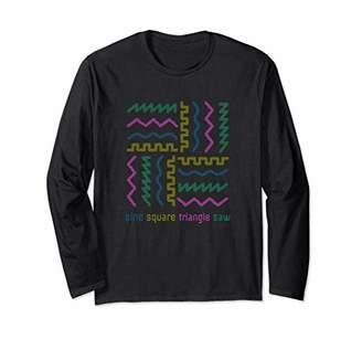 Synthesizer Waveform Long Sleeve T-Shirt
