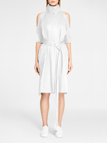 DKNY Cold Shoulder Shirt Dress