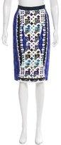 Peter Pilotto Digital Print Knee-Length Skirt