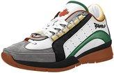 DSQUARED2 Men's Vitello Sport Fashion Sneaker