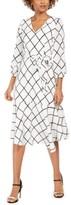 Jessica Howard Plaid Flounce-Hem Midi Dress