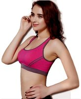 Laimeng Women Padded Bra Top Athletic Vest Gym Fitness Sports Yoga Stretch (M, )
