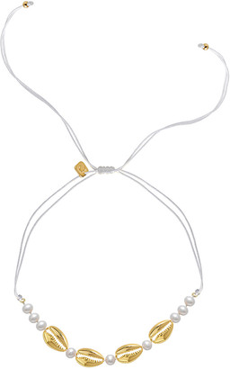 GABIRIELLE JEWELRY Gold Over Silver 6Mm Pearl Choker Necklace