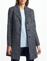 John Lewis Single Breasted Revere Collar Coat