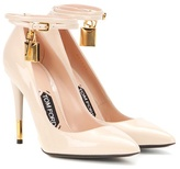 Tom Ford Embellished patent leather pumps