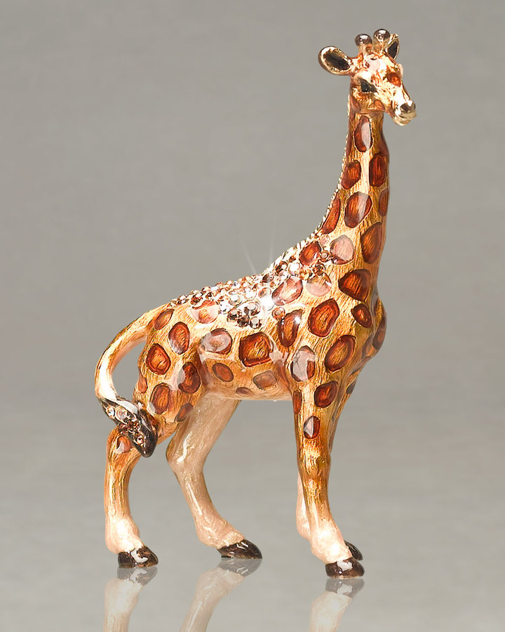 "Jay Strongwater Twigg"" Giraffe Mini Figurine"