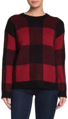 Lucky Brand Buffalo Check Pullover Sweater