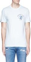 Denham Jeans 'Fan of Japan' print T-shirt