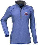 Antigua Women's New York Mets Tempo Quarter-Zip Pullover