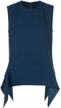 Victoria Victoria Beckham Structured Sleeveless Top