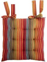 Pier 1 Imports Festive Striped Dining Chair Cushion