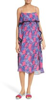 Tanya Taylor Women's Josefina Palm Print Silk Dress