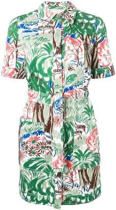 Victoria Victoria Beckham jungle pocket dress