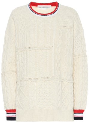 Golden Goose Kaori cable-knit wool-blend sweater