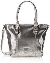 Gabor Carrara, Women's Shoulder Bag, Silber, 14x31.5x40 cm (wxhxd)