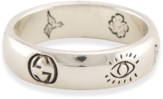 Gucci Blind For Love Ring - Size 5.25