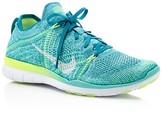 Nike Women's Free Flyknit Lace Up Sneakers