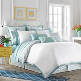 Jill Rosenwald Newport Gate Twin Bed Skirt in Mint Green