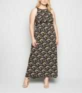 Thumbnail for your product : New Look Mela Curves Floral Maxi Dress