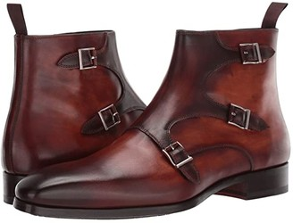 Magnanni Jagger (Cognac/Mid Brown) Men's Shoes