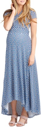 Nom Maternity Caroline Maternity/Nursing Maxi Dress