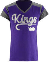 5th & Ocean Sacramento Kings Contrast Slub T-Shirt, Girls (4-16)