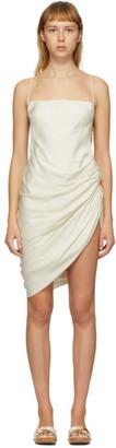 Jacquemus SSENSE Exclusive Off-White La Robe Saudade Dress