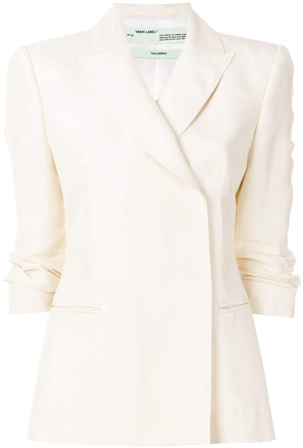 Off-White fitted blazer jacket