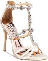 Badgley Mischka Thelma Strappy Evening Sandals Women's Shoes