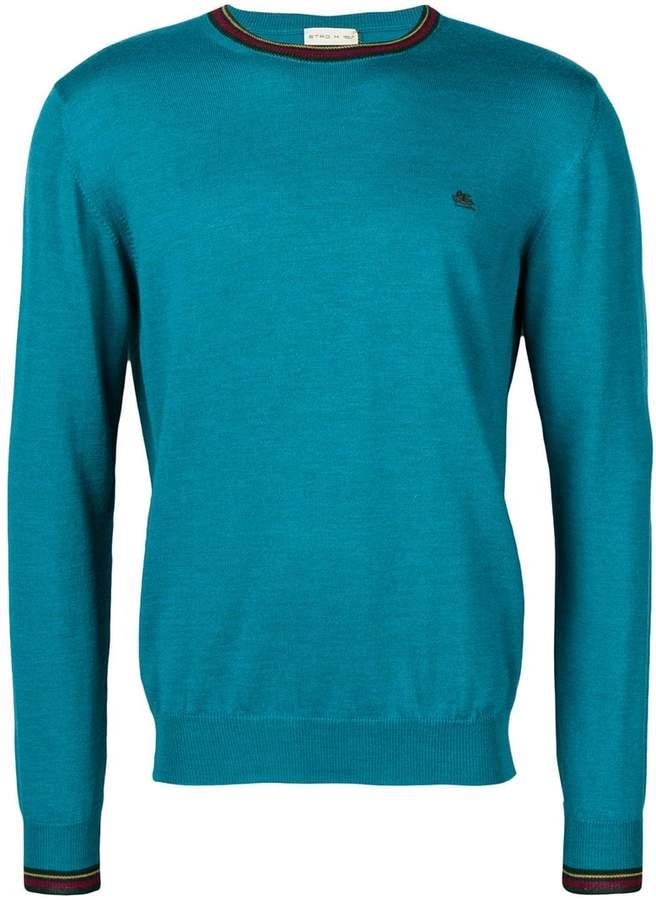 Etro logo long-sleeve sweater