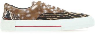 Burberry Animal Print Sneakers