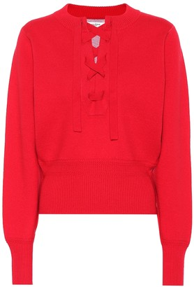 Etoile Isabel Marant Kaylyn lace-up sweater