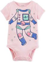 Carter's Astronaut Cotton Bodysuit, Baby Girls