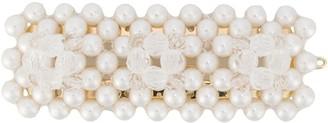 Shrimps Antonia pearl embellished hair clip