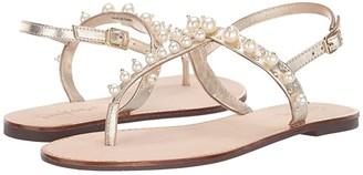 Lilly Pulitzer Moira Sandal (Gold Metallic) Women's Sandals