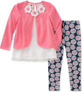 Kids Headquarters 2-Pc. Floral-Print Tunic and Leggings Set, Toddler Girls