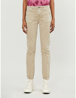 Paige Mayslie stretch-cotton trousers