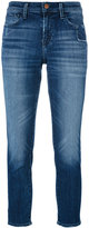 J Brand straight leg jeans - women - Cotton/Polyurethane - 25
