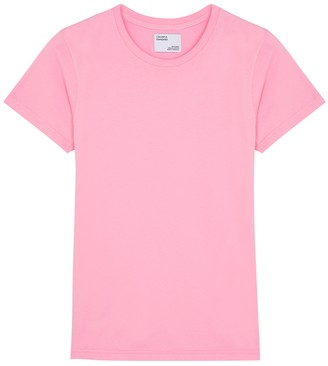 COLORFUL STANDARD Pink Cotton T-shirt