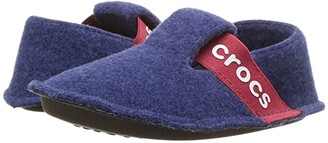 Crocs Classic Slipper (Toddler/Little Kid) (Cerulean Blue) Kids Shoes
